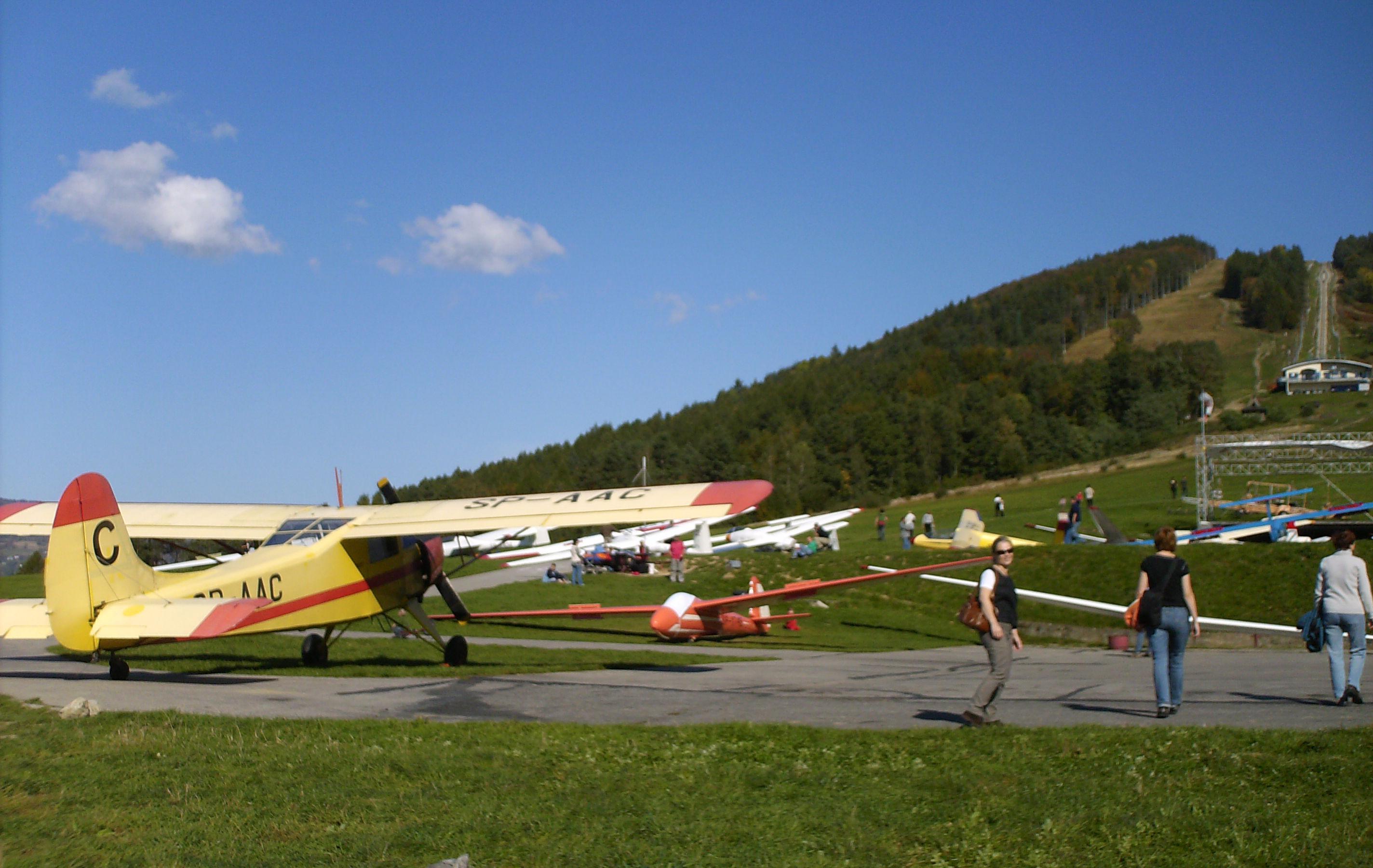 Okolica - Góra Żar - lotnisko